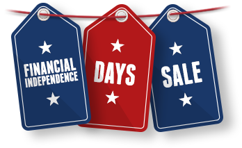 Capital One 360 Financial Independence Day Sale 2014 details